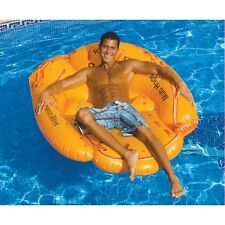 Giant Inflatable Baseball Mitt - Large Pool Float Inflatable Chair Raft