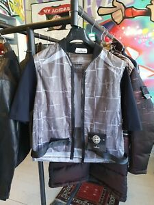 Stone Island Paper Poly Si House.check Grid