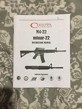 Chiappa M4-22 Owners Manual