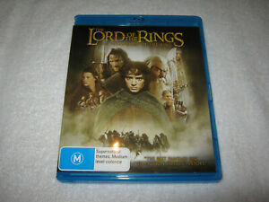 The Lord of the Rings - The Fellowship of the Ring - Blu-Ray - VGC - Region B