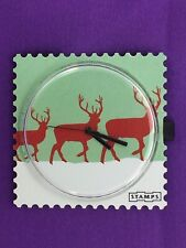 """S.T.A.M.P.S. - Stamps - Uhr- Watch """" X Mas """""""