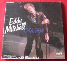 Eddy Mitchell, coffret 3 disques impact., Box 3LP - 33 tours - avec usure