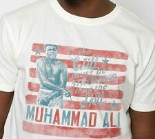 """Roots Of Fight Boxing MUHAMMAD ALI """"Will vs Skill"""" T-Shirt Mens Sz L Large NWT"""