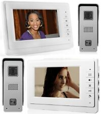"""2Pcs7"""" Farb Video Gegensprechanlage Türsprechanlage Monitor Klingel Sprechanlage"""