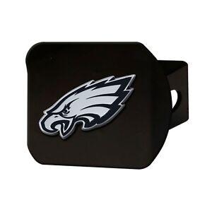Fanmats NFL Philadelphia Eagles 3D Chrome on Black Metal Hitch Cover Del 2-4 Day