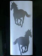 Horse Decals / Stickers x2