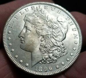 1896 Morgan Silver Dollar CH BU