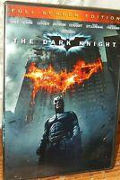 The Dark Knight Full screen Edition Heath Ledger Christian Bale  PG-13
