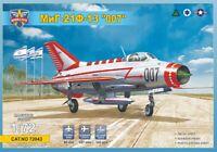 1:72 Modelsvit #72043 MiG-21F-13 '007' USAF, Iraq, 4 x Israeli A.F. decals