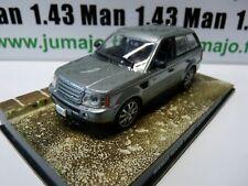 JB79 voiture 1/43 IXO 007 JAMES BOND RANGE ROVER SPORT gris quantum of solace