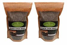 Black Chia Seeds 2kg (2 x 1kg) Bulk Deal - Best Price
