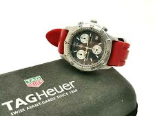 Men's TAG Heuer 2000 Series CK1113 Chronograph Quartz Watch - 38mm - Dark Gay