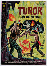 TUROK SON OF STONE #34 6.5 OFF-WHITE PAGES SILVER AGE