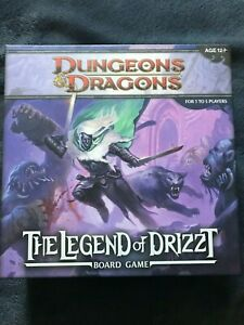 Dungeons & Dragons Legend of Drizzt Board Game NEVER PLAYED Wizard of the Coast