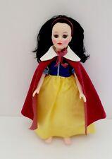 "Vintage Effanbee Snow White Vinyl/Plastic 12.5"" Doll  With Sleepy Eyes"