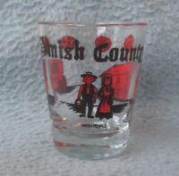 Amish Country Pennsylvania Ohio Souvenir Shot Glass