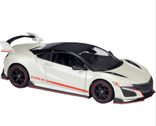 Maisto Design 1/24 Honda 2018 Acura NSX Diecast MODEL Racing Car NEW IN BOX