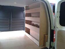 VW Caddy Maxi Plywood Racking Van Storage Van Racking Plywood Shelving