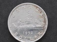 1952 Canada Silver Dollar NWL Georgivs VI Canadian Coin D7122