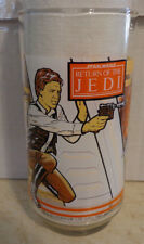 HAN SOLO STAR WARS RETURN OF THE JEDI GLASS  **NEVER USED!!**