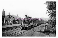pu1312 - St Mary Cray Station , Class D 738 Up Boat Express , Kent - photograph