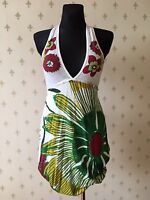 DESIGUAL Damen Kleid Gr. S Dress Viskose - Baumwolle Mehrfarbig NEU