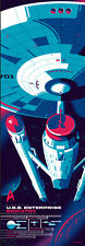Tom Whalen ENTERPRISE Star Trek 50th Anniversary Print InfoRama Variant nt Mondo