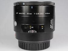 Minolta AF lens  AF Macro 50 mm 1: 2,8   79278