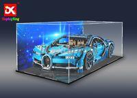 Display King- Custom display case for Lego Bugatti Chiron 42083 (Sydney Stock)