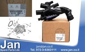 New Genuine Thermostat Housing Peugeot 308 Citroen C4 9808647080 11537534521