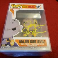 JOSH MARTIN SIGNED MAJIN BUU (EVIL) FUNKO POP DRAGON BALL Z JSA WITNESS NEW MINT
