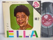 ELLA FITZGERALD The best of Ella Vol 2 MONO AH 0022