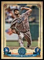 2019 Topps Gypsy Queen Baseball Clayton Kershaw Los Angeles Dodgers #171