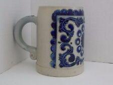 Vintage ~ Reinh Merkelbach Hohr Grenzhausen * Salt Glaze Stein Mug 0,5L