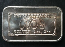 1985 International Silver Ltd. Commercial Silver Art Bar ISL-1 A3478