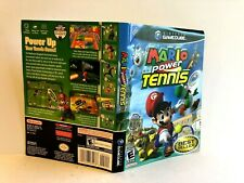 Mario Power Tennis Nintendo Gamecube ARTWORK ONLY Authentic