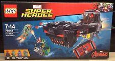 LEGO 76048 - MARVEL SUPER HEROES: IRON SKULL SUB ATTACK - BNIB - RETIRED SET