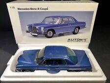 AUTOart 1:18 Mercedes-Benz /8 Coupe 280C - Blue - BRAND NEW * RARE