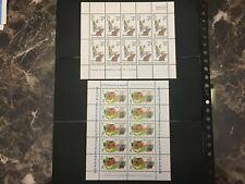 British New Zealand Stamp # B90a B93a Mint Og Nh $40 - Lot #57
