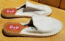 Pop Comfort Fit Off White Amber Slip On Floral Shoes 9.5
