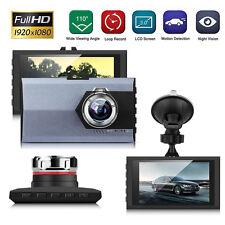 "3"" HD LCD 1080P Car Video Recorder DVR Vehicle Camera Dash Cam Night Vision Grey"