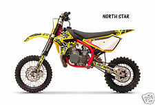 Dirt Bike Graphics Kit decal Sticker Wrap For Cobra CX50 2007-2012 NORTHSTAR YLW