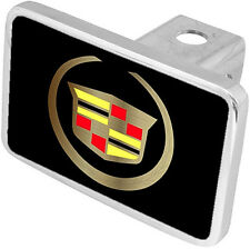 New Cadillac Gold Logo Tow Hitch Cover Plug