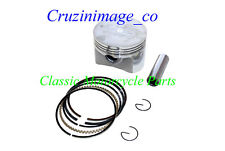 79-82 Honda XR500 89.5mm PISTON 0.5mm Oversize Rings Pin Clips  include XL500-1