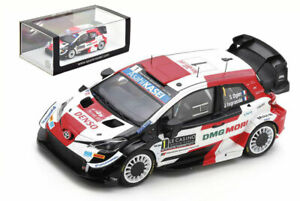 Spark S6582 Toyota Yaris WRC Winner Monte Carlo 2021 Sebastien Ogier 1/43 Scale
