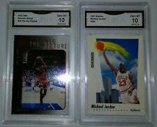 New listing ($300) Michael Jordan 1997 UD3 Big Picture Insert + 91 Skybox Gem Mint 10 Lot +