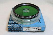 52mm Soligor Color-Spot Green Filter + Free UK Postage