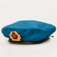 Russian Airborne Troops Blue Beret Original VDV Hat Russia Army Hat Size 62