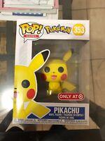 Pokemon Pikachu Target Exclusive Funko Pop #353 NEW DAMAGED BOX