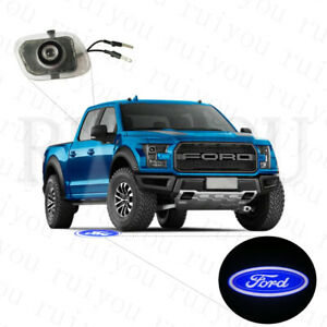 LED Ford F150 Logo Puddle Light Rearview Mirror Projector Light